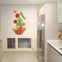 Estores cocina fruits de cortinadecor color estampado - Estores enrollables cocina ...