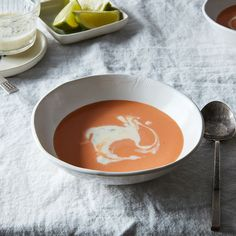 Creamy Chilled Horseradish Soup with Tomato and Green Apple Recipe on Food52 recipe on Food52