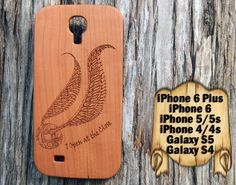 Snitch, iPhone 6/6+ 5/5s 4/4s, Samsung S4 S5, Laser Engraved Genuine Wood Case, Harry Potter by TheLasersEdge on Etsy https://www.etsy.com/listing/225871724/snitch-iphone-66-55s-44s-samsung-s4-s5