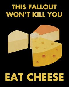 Cheese Propaganda Poster.