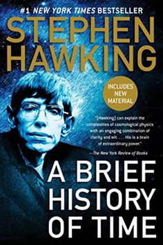 A Brief History of Time. A landmark volume in science writing by one of the great minds of our time, Stephen Hawking's book explores such profound questions as: How did the universe begin—and what made its Scientific Writing, Science Writing, Science Books, Science Nature, Life Science, Computer Science, This Is A Book, The Book, Stephen Hawking Books