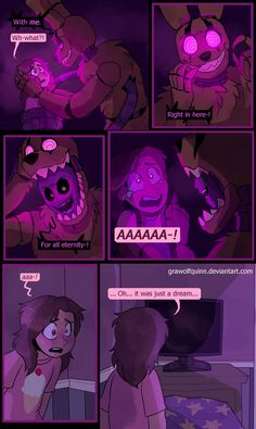 Springtrap and Deliah (Page 73) by GraWolfQuinn