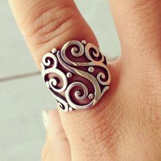 Open Sorrento Ring from James Avery Jewelry #jamesavery Instagram photos | Webstagram - the best Instagram viewer