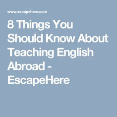 For Two Years I Taught ESL In South Korea In Seoul Where It Is - 8 things you should know about teaching english abroad