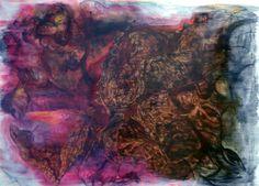 "Saatchi Online Artist Rob Logan; Painting, ""Scramble"" #art"