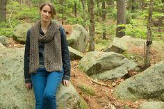 Mesh Scarf Free Knitting Pattern