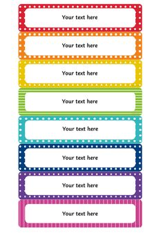 These editable tray labels will definitely help to make your class more organised. Name Tag For School, School Name Labels, Class Labels, Book Labels, Classroom Labels Free, Classroom Name Tags, Preschool Name Tags, Name Tag Templates, Label Templates
