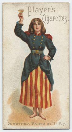 Dorothea Baird as 'Trilby'. (ca. 1893-1903)