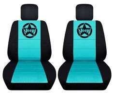 Choose your Colour logo.All makes and Models of Jeep. Jeep Wrangler Seat Covers, Jeep Seat Covers, Jeep Cars, Jeep Jeep, Tiffany Blue Car, Blue Jeep, Jeep Wrangler Accessories, Jeep Stuff