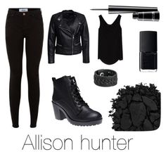 Allison hunter by twfs on Polyvore featuring Mode, Zara, Sisters Point, Wet Seal, Frye, Urban Decay, MAC Cosmetics and NARS Cosmetics