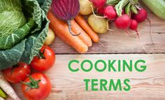 40 common cooking terms (FREE printable included)
