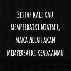 Semoga bermanfaat.:) Follow @menjadisalihah  Follow @menjadisalihah Pray Quotes, S Quote, Life Quotes, Islamic Inspirational Quotes, Islamic Quotes, Ied Mubarak Quotes, Best Quotes Ever, Learn Islam, Islamic Teachings