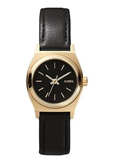 NIXON-Small-Time-Teller-Leather-Summer-2015