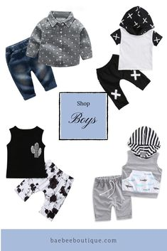 Stylish baby clothes, at affordable prices to keep your little ones cute from head-to-toe. Stylish Baby Clothes, Cute Baby Clothes, Toddler Outfits, Cool Kids, Trendy Outfits, Cool Style, Baby Boy, Boutique, Sweatshirts
