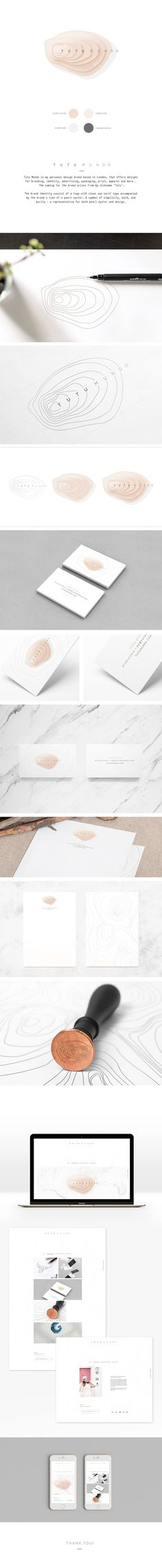 Tugba Ozcan on Behance brand identity