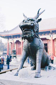 Dragon Statue, Summer Palace, China | Top Inspired