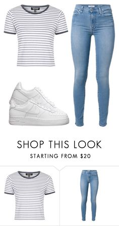 """""""."""" by kierstinthesavage on Polyvore featuring Topshop, NIKE, women's clothing, women's fashion, women, female, woman, misses and juniors"""