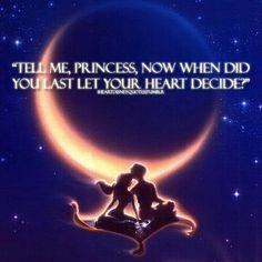 Aladdin- A Whole New World, love this song!!