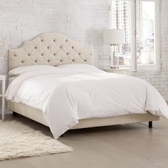 Skyline Furniture Costello Upholstered Panel Bed Size: Twin