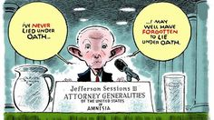 Like Trump, who forgot he had bragged about his greatest of all time memory when under oath and asked about making that statement in another deposition because Trump kept saying he couldn't remember in response to most questions, Sessions has no recollection of his lying.