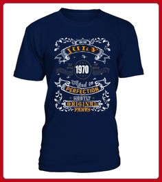 1970 July Aged to Perfection - Geburtstag shirts (*Partner-Link)