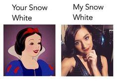 Cutest Snow White EVER!!!! <3