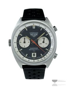 Heuer 52 Carrera 1153N Chronomatic No.1