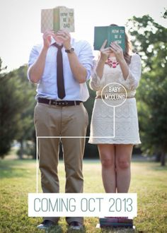Clever Photo Pregnancy Announcements | Apartment Therapy