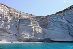 """Santorini offers some of the finest beaches in the Aegean Sea with black volcanic, white, red sand beaches and deep blue waters. Here's the """"Top 10 Beaches in Santorini"""". Red Beach Santorini, Santorini Tours, Santorini Beaches, Oia Santorini, Santorini Island, Places To Travel, Places To Go, Travel Destinations, Red Sand Beach"""