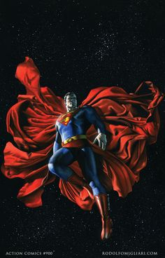 Superman in space