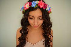 DIY Flower Headband ♡ for fiesta!!