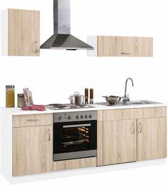 Küchenzeile »Brilon« mit E-Geräten, Breite 210 cm Jetzt bestellen unter: https://moebel.ladendirekt.de/kueche-und-esszimmer/kuechen/kuechenzeilen/?uid=919401ea-c97e-5207-99f2-f480d23681b3&utm_source=pinterest&utm_medium=pin&utm_campaign=boards #küchenzeilen #kueche #kuechen #kuechenzeilen #esszimmer