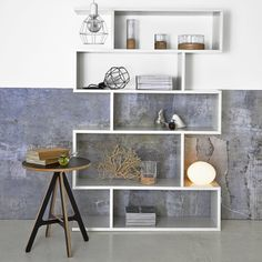 Standalone display units encourage us to edit our possessions and display only the best John Lewis Home, Zen Room, Living Spaces, Living Room, Home Trends, Mid Century Style, Danish Design, Home Collections, Solid Wood