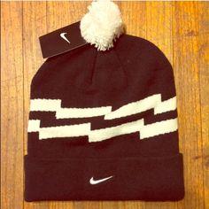 7aed46615ac Nike Beanie New Black   White Nike Beanie Nike Accessories Hats