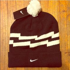 Nike Beanie New Black & White Nike Beanie Nike Accessories Hats