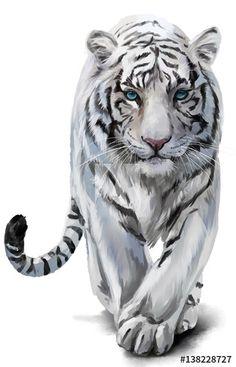 Watercolor Tiger, Tiger Painting, Watercolor Animals, Watercolor Paintings, Tiger Sketch, Tiger Drawing, Tiger Art, Big Cats Art, Cat Art