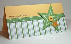Big News Stampin' Up! Baby Card