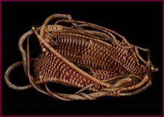 I love the intricacy of this piece. Open Ended bowl style by master weaver Tina Puckett