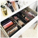 DIY Simple Makeup Room Ideas, Organizer, Storage and Decorating- . - DIY Simple Makeup Room Ideas, Organizer, Storage and Decorating- - Makeup Organization Ikea, Diy Makeup Organizer, Make Up Organizer, Bedroom Organization, Ikea Makeup Storage, Acrylic Organizer, Shop Organization, Makeup Vanities, Makeup Vanity Decor