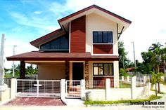 Model houses in subdivision - House and home design Davao, Philippine Houses, Huge Houses, Building Images, Kerala Houses, One Story Homes, Level Homes, Build Your Dream Home, Story House
