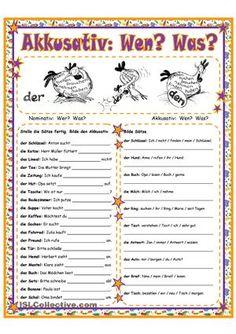 Arbeitsblatt mit 2 Übungen- Sätze vervollständigen- Sätze bildenViel Freude damit!Schön, wenn es euch gefällt! ; ) - DaF Arbeitsblätter