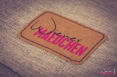 Wiener Mädchen: Adventskalender - das 11. Türchen ist geöffnet - Etiketten aus snap pap