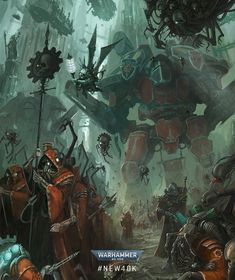 Warhammer 40k Necrons, Warhammer Fantasy, Fantasy Landscape, Fantasy Art, Warhammer Imperial Guard, Military Drawings, Geek Art, Space Marine, Beautiful Artwork
