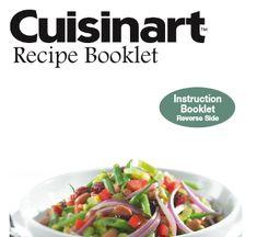 Cuisinart Electric Pressure Recipe Booklet | hip pressure cooking