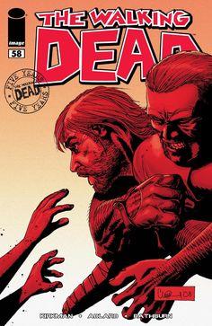 Ezekiel Kirkman Beautiful The Walking Dead # 110 Nm Michonne Vs Adlard Amc