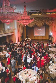 eecab53a230 Alpha Phi of Saint Joseph s University Red Dress Gala Fundraiser for heart  disease
