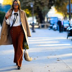 Show goers on day 3 of Paris Fashion Week favored voluminous silhouettes and easy separates over the statement pieces of seasons past. See the best looks ahead.