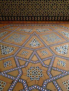 Real Alcazar tiles, Seville