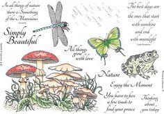 Stamp Set 467 - Nature