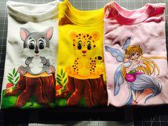 Toddler shirts lot set of 3 Toddler 2T to 4T toddler Shirts, Fairy, Tiger, Kitty, Gift Set, 4 Year Old, T-Shirts, Girls Shirts, Girls